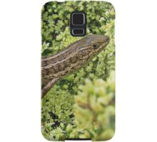 Skink on Asparagus blossoms Samsung Galaxy Case/Skin