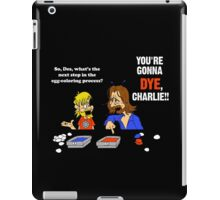 Charlie's Fate (LOST) iPad Case/Skin