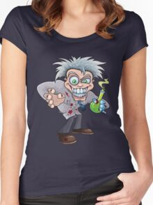 Mad Scientist Women's Fitted Scoop T-Shirt