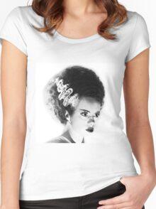Bride of Frankenstein Women's Fitted Scoop T-Shirt