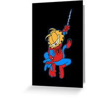 The Real Spider-Man Greeting Card