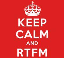 Keep Calm Geeks: RTFM Baby Tee