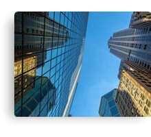 Structures Of NYC Canvas Print