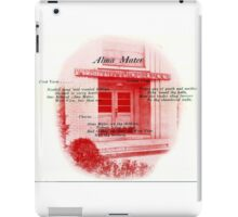 West View High School - Alma Mater iPad Case/Skin