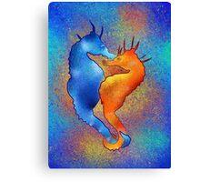 Tenimessa V1 - amazing seahorses Canvas Print