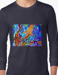 KOI ABSTRACT Long Sleeve T-Shirt
