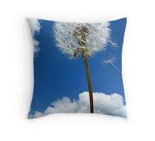 Fly with the wind! Throw Pillow