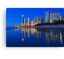 City Beach Canvas Print