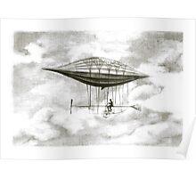 pasenger airship Poster