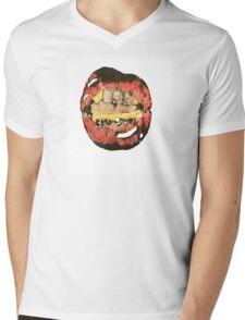 Teeth-y Mens V-Neck T-Shirt