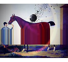 Meteor hits Pony. Fate takes a Hand... VividScene Photographic Print