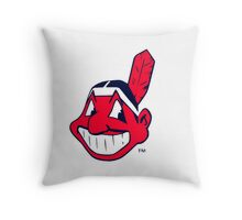 America's Game - Cleveland Indians Throw Pillow