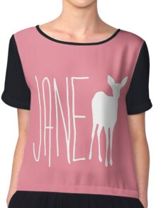 Life is strange Jane Doe Chiffon Top