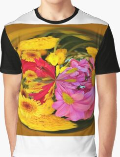 Flowers In A Bubble Graphic T-Shirt