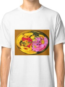 Flowers In A Bubble Classic T-Shirt