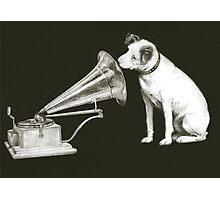 his masters voice Photographic Print