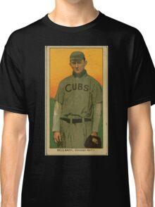 Benjamin K Edwards Collection Ed Reulbach Chicago Cubs baseball card portrait 001 Classic T-Shirt