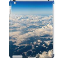 Aerial View Of Planet Earth As Seen From 40.000 Feet Altitude iPad Case/Skin