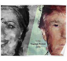 Vote Trump-Pence 2016 Poster