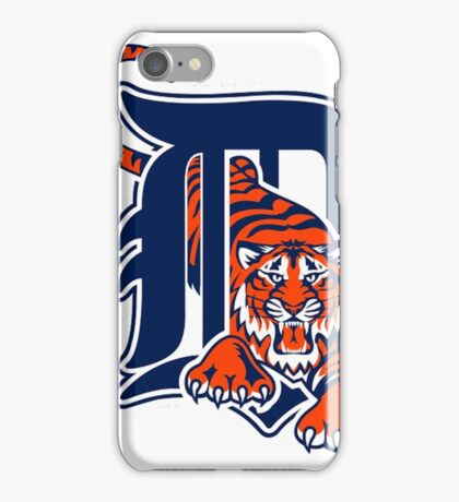 America's Game - Detroit Tigers iPhone Case/Skin