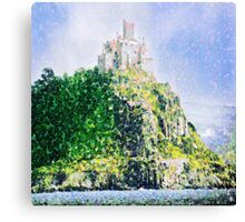 ST MICHAELS MOUNT CORNWALL ENGLAND Canvas Print