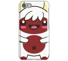 Cute Red Monster iPhone Case/Skin