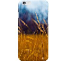 Tall Grass in Kansas iPhone Case/Skin