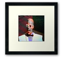 Welcome to the Cafe 80's Framed Print