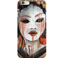 Geisha in Autumn Rain: The Innocent Concubine iPhone Case/Skin