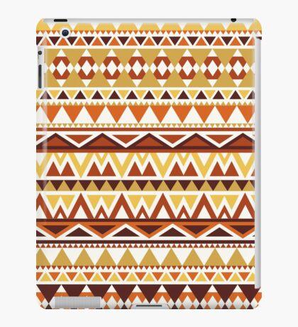 Aztec (sunset) iPad Case/Skin