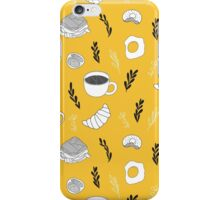 Yellow breakfast iPhone Case/Skin