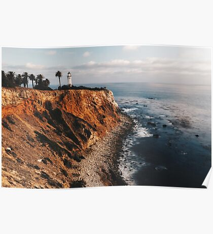 Point Vincent Lighthouse - California - Color Poster