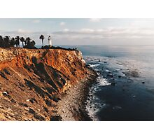 Point Vincent Lighthouse - California - Color Photographic Print