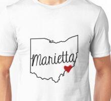 Heart Marietta Unisex T-Shirt