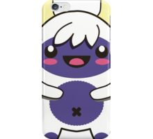 cute purple monster iPhone Case/Skin
