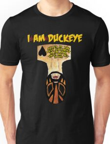 JULES BUST Design - I am Duckeye Unisex T-Shirt