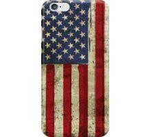 America Grunge Flag iPhone Case/Skin