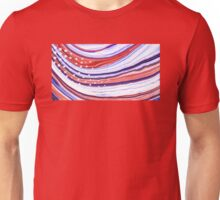 Modern American Flag - Red White And Blue - Sharon Cummings Unisex T-Shirt