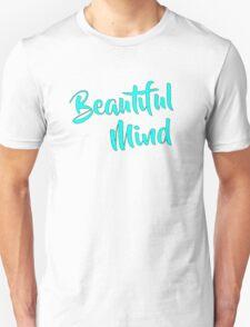 Beautiful Mind Sea Foam Unisex T-Shirt