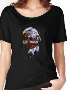 harley-davidson cycles  Women's Relaxed Fit T-Shirt