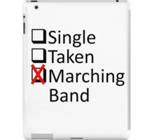 Marching Obsession iPad Case/Skin