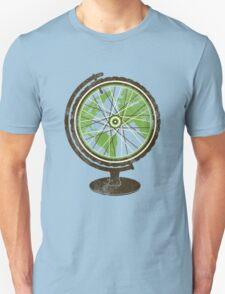 Global Cyclist (green) Unisex T-Shirt