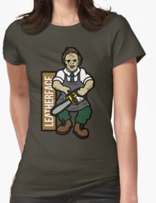 LeatherFace Womens Fitted T-Shirt