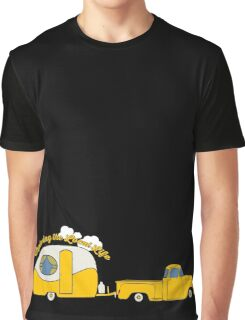 Yellow Truck & Camper Graphic T-Shirt