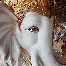 Ganesh Statue by Andrew  Makowiecki