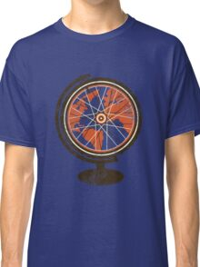 Global Cyclist (orange) Classic T-Shirt