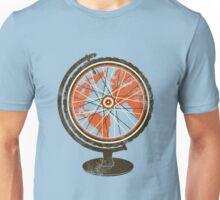 Global Cyclist (orange) Unisex T-Shirt