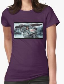 Iron Warrior Womens Fitted T-Shirt