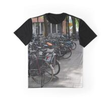 Bicycles in Amsterdam Graphic T-Shirt