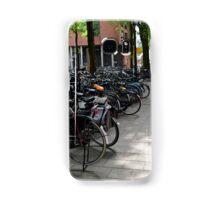 Bicycles in Amsterdam Samsung Galaxy Case/Skin